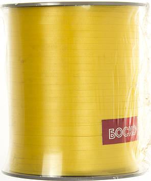 Стрічка фольгована для повітряних кульок та декору жовта