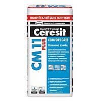 Ceresit СМ 11 Plus Клей для плитки Comfort Gres (25 кг)