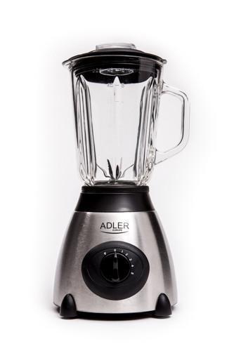 Блендер стаціонарний Adler AD 4070 потужність 600W, обєм чаші 1,5 л, 5 швидкостей