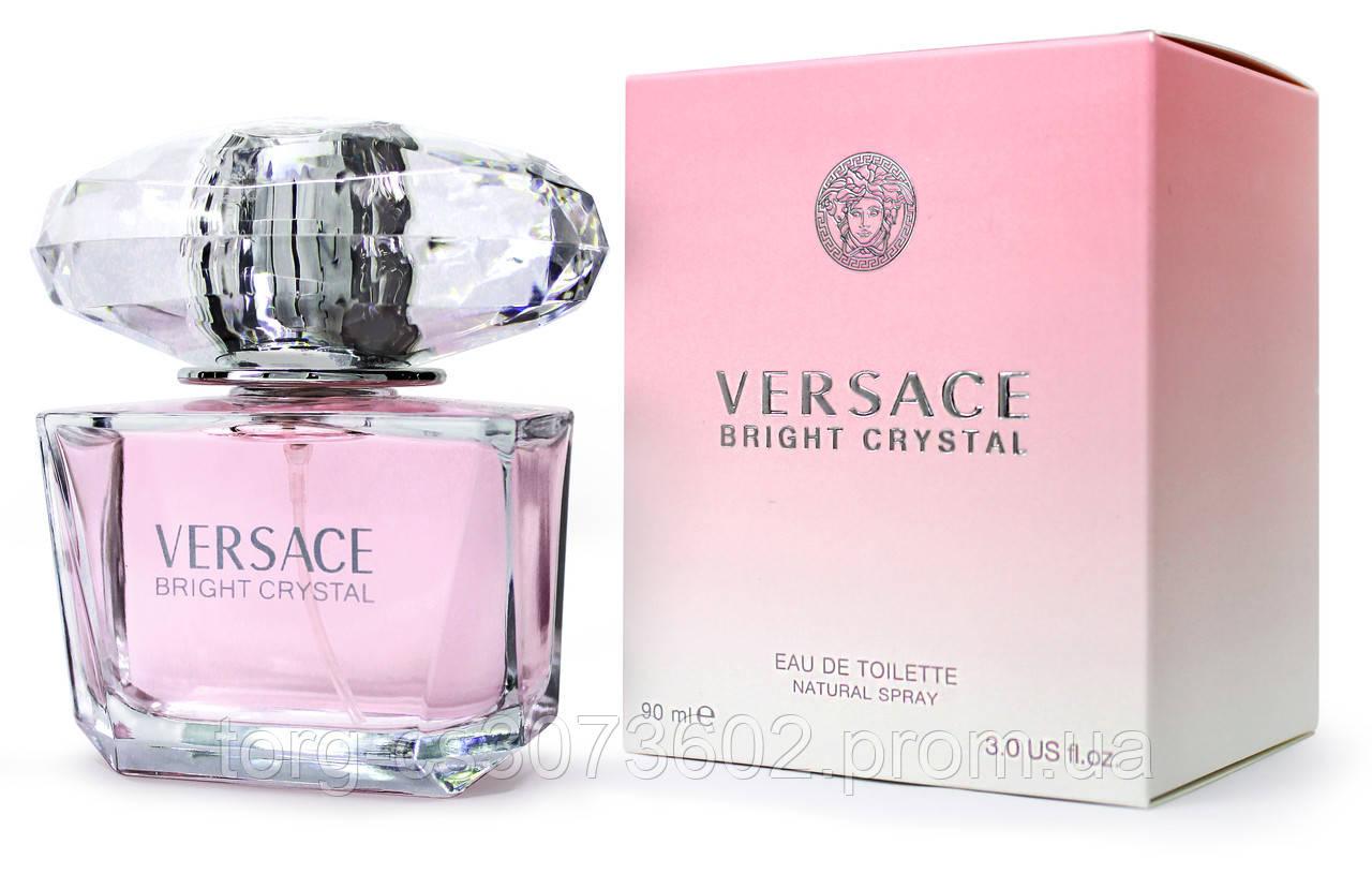 Versace Bright Crystal, женская туалетная вода 90 мл.