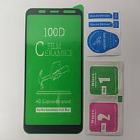 Гибкое Защитное стекло для Xiaomi Redmi Note 5 Ceramics 9D на весь экран телефона Керамическое Черный