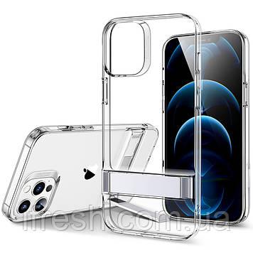Чехол ESR для iPhone 12 Pro Max Air Shield Boost (Metal Kickstand), Clear (3C01201330201)