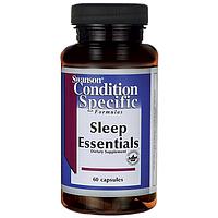 Незаменимый комплекс для улучшения сна, 60 капсул, Sleep Essentials Swanson