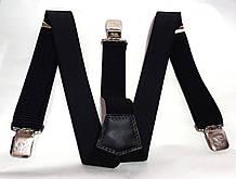 Підтяжки для штанів Україна ТД ширина 4 см чорні