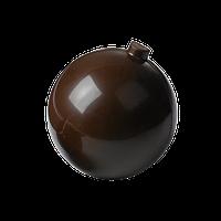 """Поликарбонатная форма """"Новогодний шарик 12,5 см"""""""