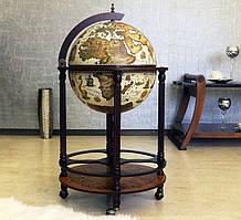 Глобус бар напольный на 4 ножках 420 мм. 480046