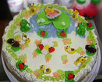 """Торт  на заказ """"Дюймовочка"""""""