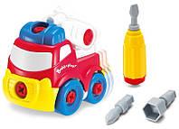 Игровой набор Конструктор Пожарная машина Строй и играй keenway K11935