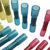 Термоусаживаемая гильза DS 406 сечения от 1,20 до 2,5 мм2 ТУТ с клеем (под опрессовку)