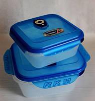 Набор вакуумных контейнеров для хранения продуктов 2 шт