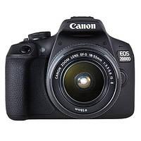 Фотоапарат Canon EOS 2000D Kit 18-55mm IS II Black