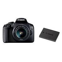 Фотоапарат Canon EOS 2000D Kit 18-55mm IS II Black+LP-E10