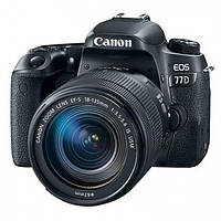 Фотоапарат Canon EOS 77D EF-S 18-55mm IS STM Kit Black