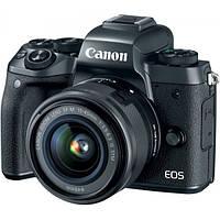 Фотоапарат Canon EOS M5 + 15-45 mm Black