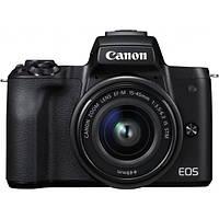 Фотоапарат Canon EOS M50 Kit 15-45 IS STM Black