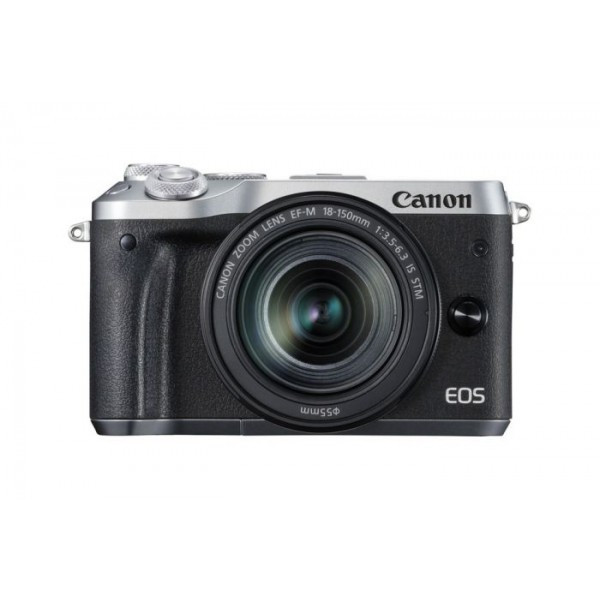 Фотоапарат Canon EOS M6 18-150 IS STM Black - Silver