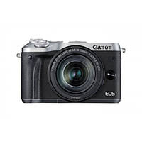 Фотоапарат Canon EOS M6 18-150 IS STM Black - Silver, фото 1