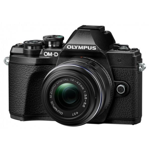 Фотоапарат Olympus E-M10 MK III + 14-42 IIR KIT Black