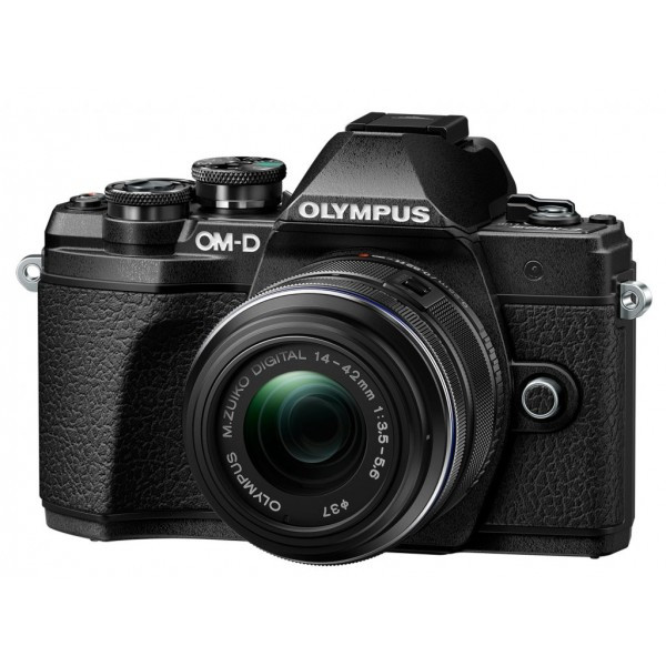 Фотоаппарат Olympus E-M10 MK III + 14-42 IIR KIT Black