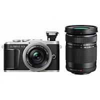Фотоапарат Olympus Pen E-PL9 + 14-42 Pancake + 40-150 Black, фото 1