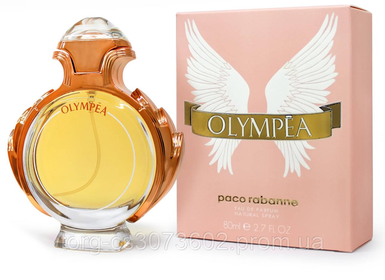 Paco Rabbane Olympea, женская парфюмированная вода 80 мл.