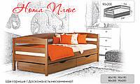 Кровать односпальная деревянная Нота плюс Estella