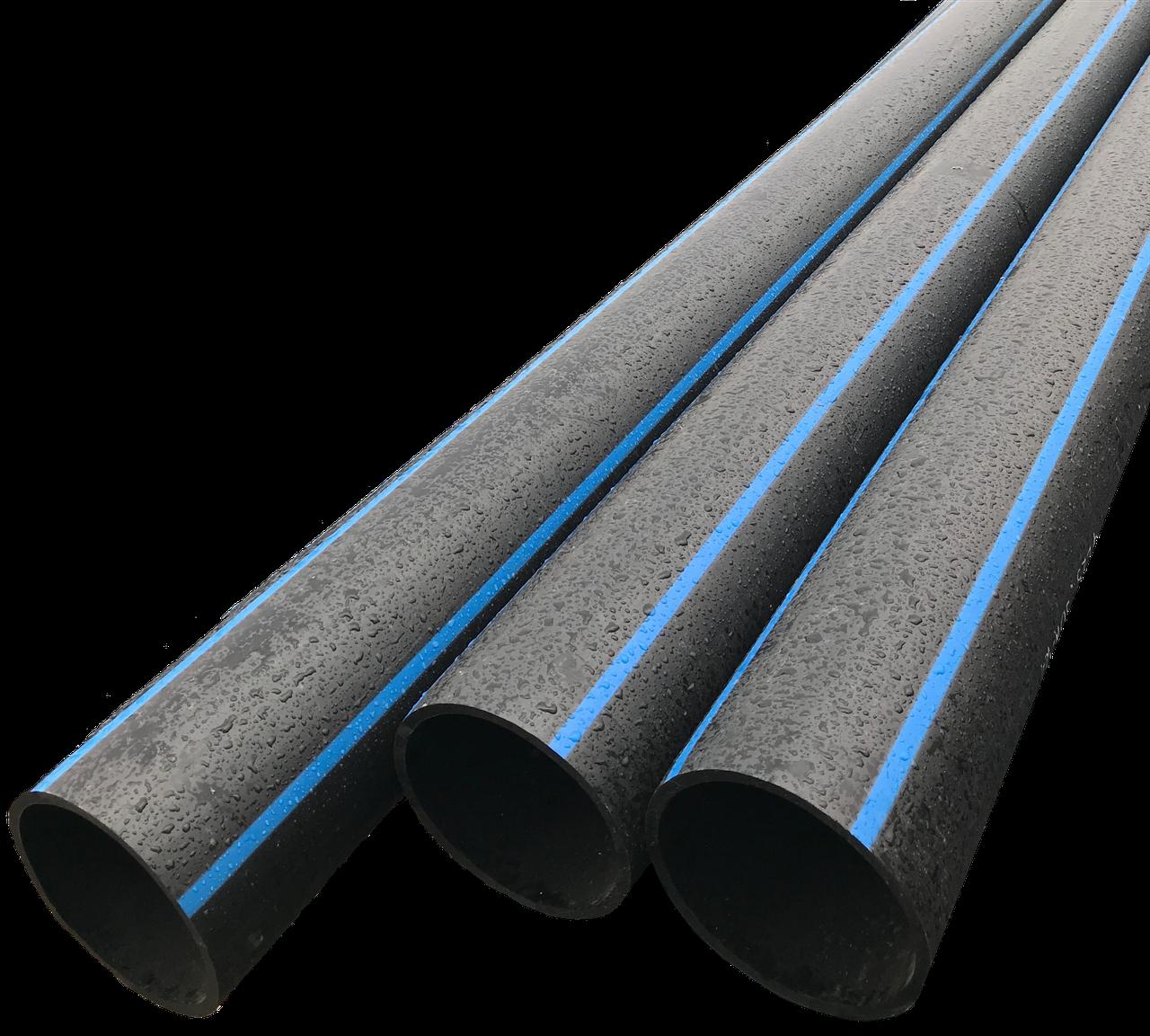 Труба поліетиленова ПЕ техн d125х6мм SDR 21
