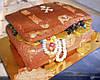 """Торт  на заказ """"Сундук"""""""
