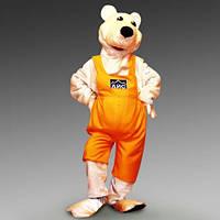 """Рекламный костюм """"Медведь белый"""""""