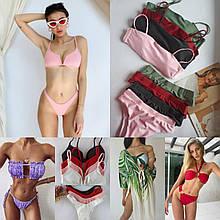 Дропшиппинг жіночий купальники, пляжні туніки, одяг