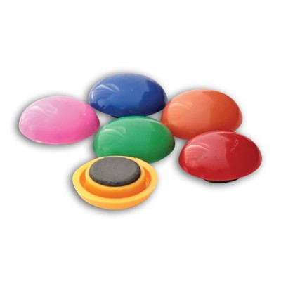 Магніти кольорові d=3 см (6-шт.)