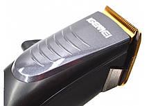 Машинка для стрижки волос Igemei GM-836, 10 насадок, фото 3