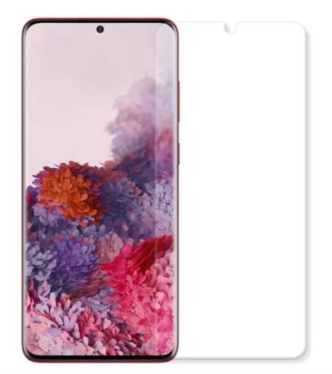 Гидрогелевая защитная пленка AURORA AAA на Samsung Galaxy S20 на весь экран прозрачная
