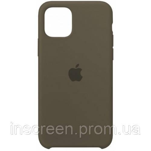 Чехол силиконовый Silicone Case для Apple iPhone 11 Pro Cocoa, фото 2