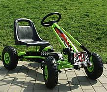 Детский педальный карт М 0645-5 колеса резина