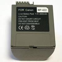 АККУМУЛЯТОРCANON BP-422 7.4V 2800mAh Li-Ion