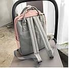 Сумка рюкзак для девочки подростка школьный, водонепроницаемый в стиле Канкен., фото 3