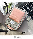 Сумка рюкзак для девочки подростка школьный, водонепроницаемый в стиле Канкен., фото 6