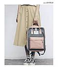 Сумка рюкзак для девочки подростка школьный, водонепроницаемый в стиле Канкен., фото 8