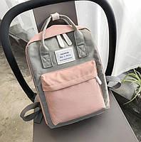 Сумка рюкзак для девочки подростка школьный, водонепроницаемый в стиле Канкен.