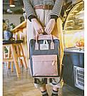 Сумка рюкзак для девочки подростка школьный, водонепроницаемый в стиле Канкен., фото 9