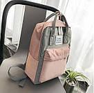 Сумка рюкзак для девочки подростка школьный, водонепроницаемый в стиле Канкен., фото 2