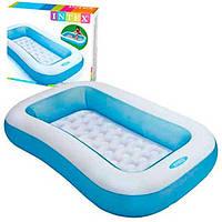 Детский надувной бассейн Intex 57403 (166-100-28см)