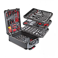 Профессиональный набор ручного инструментов в чемодане Swiss Kraft International PL-399ТLG 399 pcs