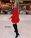 Женское платье, костюмка люкс, р-р универсальный 42-46 (красный), фото 3