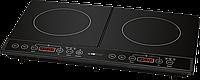 Бытовая индукционная кухонная настольная плита двухконфорная для дачи Clatronic