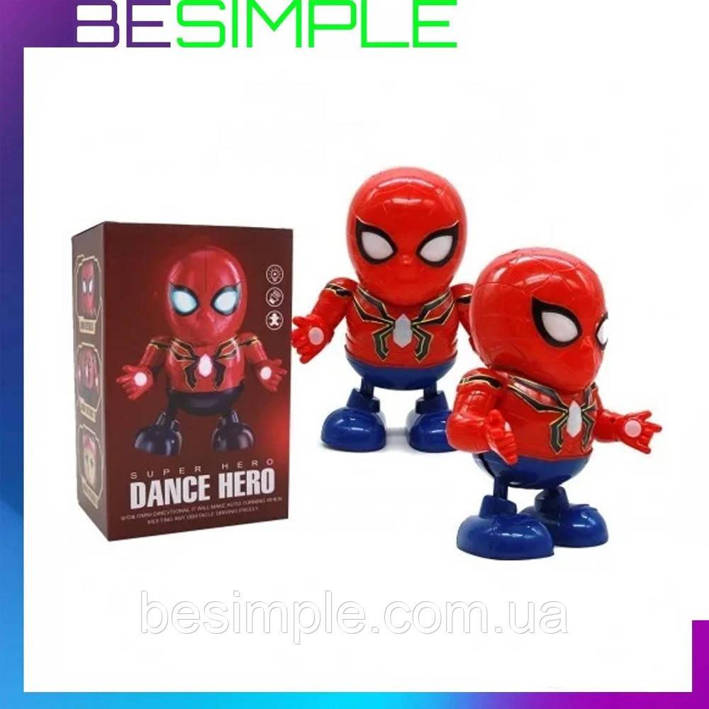 Детская интерактивная игрушка танцующий робот DANCE HERO КРАСНЫЙ