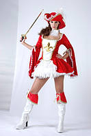 Мушкетерка - взрослый карнавальный костюм