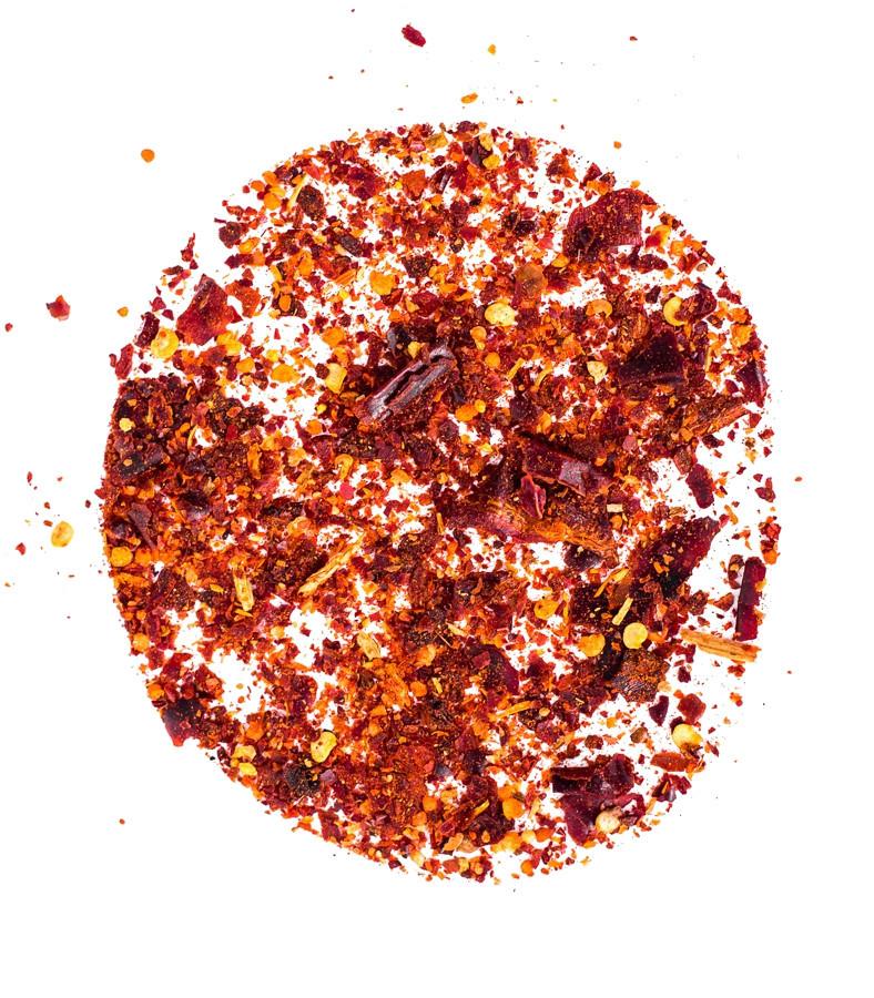 Перец чили хлопья, дробленный 3-3 мм (с семенами), сушеный перец чили крупного помола 5 кг, PL