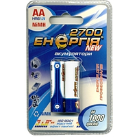 Аккумуляторная батарейка Энергия R06 2700 mAh